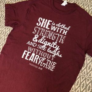 Super cute Ruby's Rubbish Proverbs Quote Tee